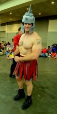 Baltimore Comic Con 2014 - Spartan