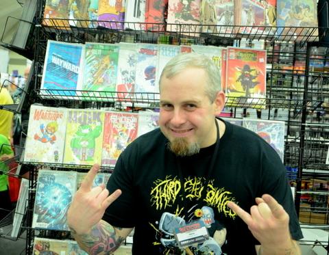 Baltimore Comic Con 2014 - Steve from Third Eye Comics