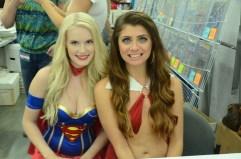 Baltimore Comic Con 2014 - Supergirl and Vampriella