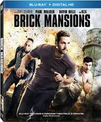 Brick Mansions blu ray cover