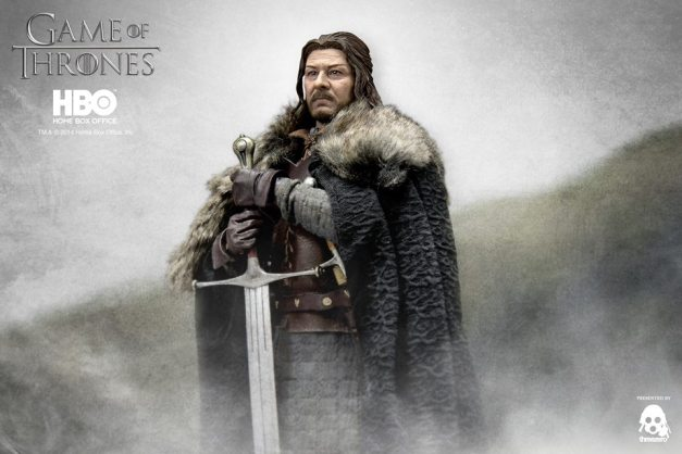 Game of Thrones Ned Stark with backdrop