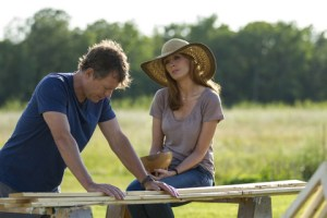 "Allen Fraser/TriStar Pictures Greg Kinnear and Kelly Reilly in ""Heaven Is for Real."""