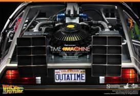 Hot Toys Back to the Future DeLorean rear