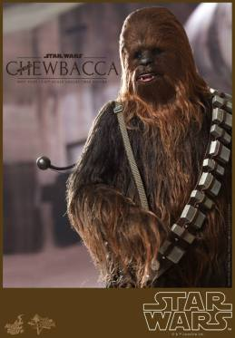 Hot Toys Star Wars Chewbacca - tighter shot
