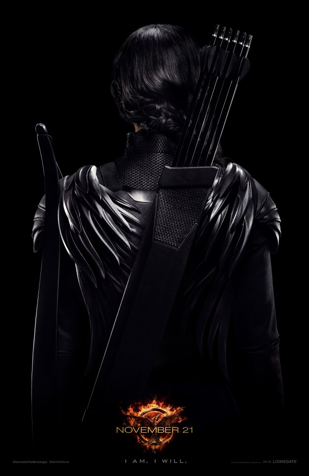 Katniss Hunger Games Mockingjay poster