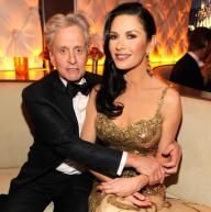 michael douglas and catherine zeta jones oscars 2014