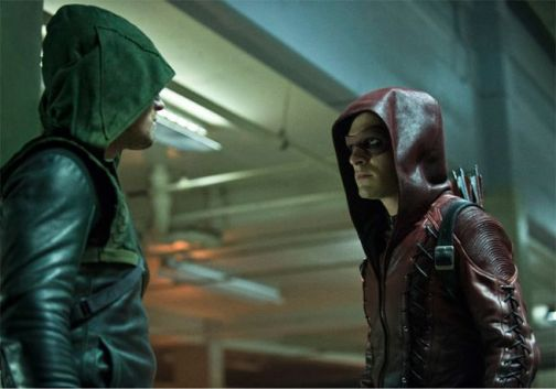 Arrow - Season 3 - The Calm - Arrow and Roy