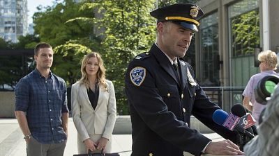 Arrow - Season 3 - The Calm - Oliver, Laurel and Lance