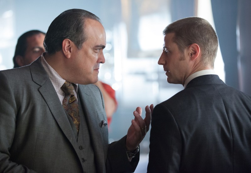 gotham ep. 5 viper - maroni and gordon