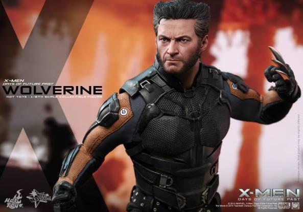 Hot Toys X-Men DOFP Wolverine - ready for battle