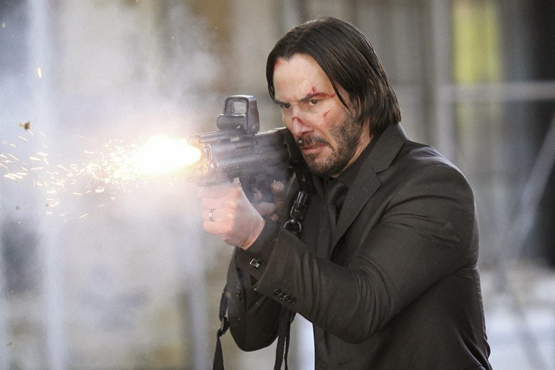 "David Lee/Lionsgate Publicity Keanu Reeves is John Wick in ""John Wick."""