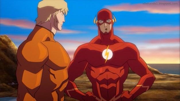 Justice-League-Throne-of-Atlantis-- Flash and Aquaman