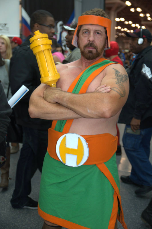 NYCC2014 cosplay - Hercules