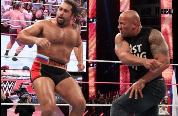 Rock and Rusev