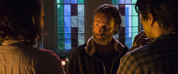 The Walking Dead - Four Walls and a Roof - Rick, Maggie and Glen