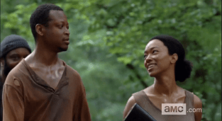 the-walking-dead-season-5-episode-2-strangers-bob and sasha