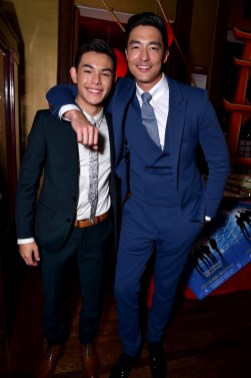 Alberto E. Rodriguez/Getty Images Ryan Potter and Daniel Henney