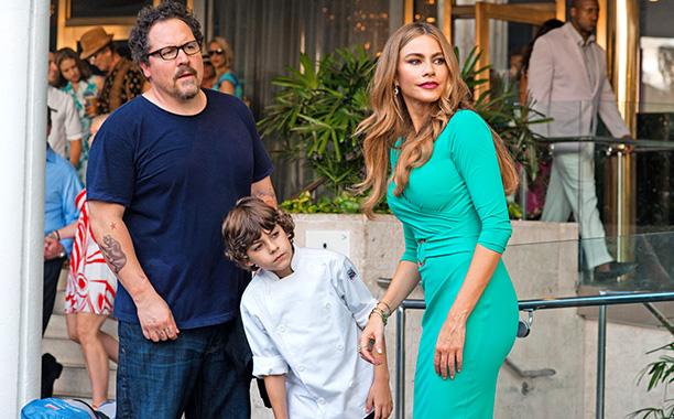 Chef - Jon Favreau, Emjay Anthony and Sofia Vergara