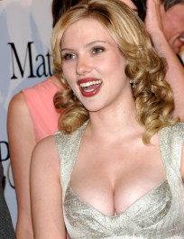 Scarlett+Johansson+hot+white dress