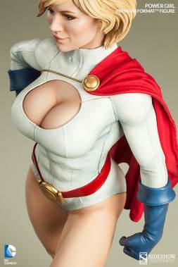 Sideshow Collectibles Power Girl - top down shot