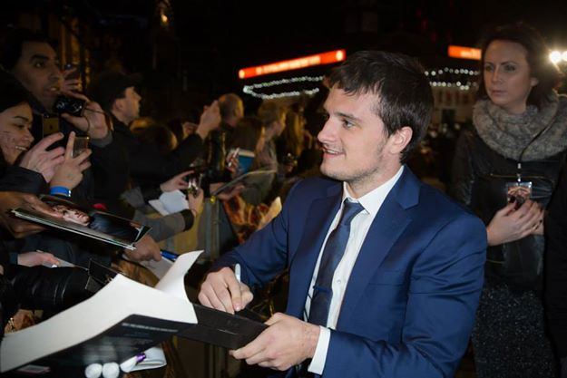 The Hunger Games - Mockingjay premiere - Josh Hutcherson
