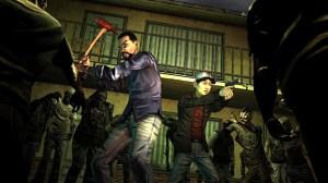 The Walking Dead Season 1 - Lee and Glen