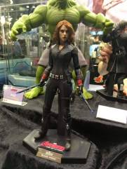 Hot Toys Age of Ultron Avengers figures - Black Widow and Hulk