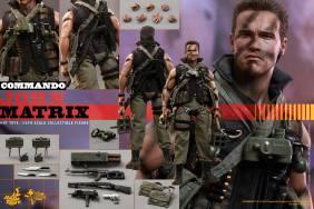 Hot Toys Commando - John Matrix figure - collage pic