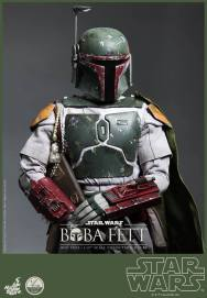 Hot Toys Return of the Jedi Boba Fett figure - close up