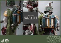 Hot Toys Return of the Jedi Boba Fett figure - collage