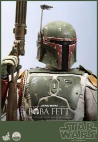 Hot Toys Return of the Jedi Boba Fett figure - gun up