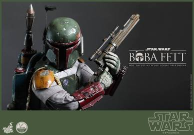 Hot Toys Return of the Jedi Boba Fett figure - tighter shot