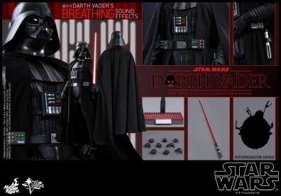 Hot Toys Star Wars Darth Vader figure - collage pic
