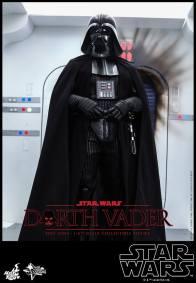 Hot Toys Star Wars Darth Vader figure - entering Rebel ship