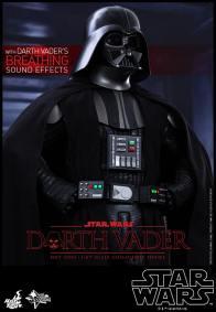 Hot Toys Star Wars Darth Vader figure - hands on hip