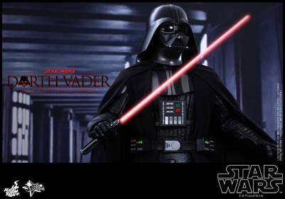 Hot Toys Star Wars Darth Vader figure - tight main shot