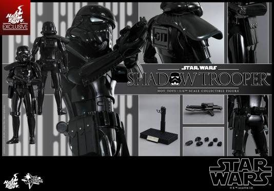 Hot Toys Star Wars Shadowtrooper -collage