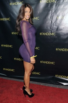 vida guerra purple dress
