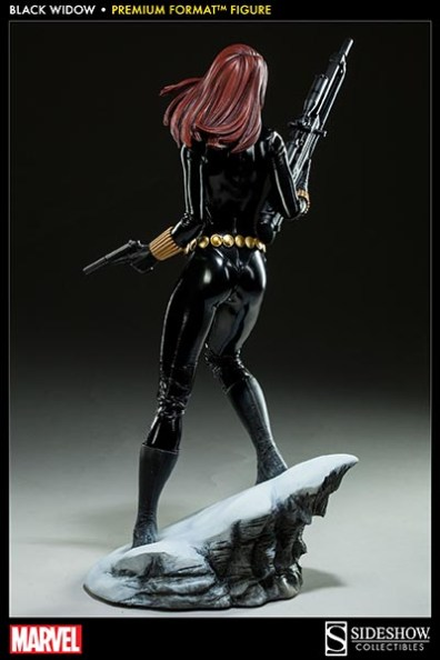 Black Widow - Marvel Premium Format Figure - rear shot