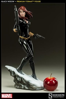 Black Widow - Marvel Premium Format Figure - scale shot