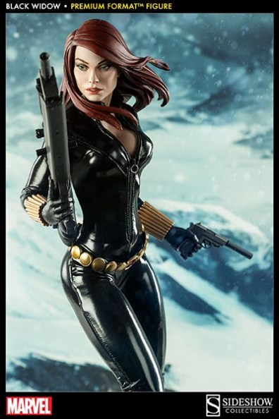 Black Widow - Marvel Premium Format Figure - top down