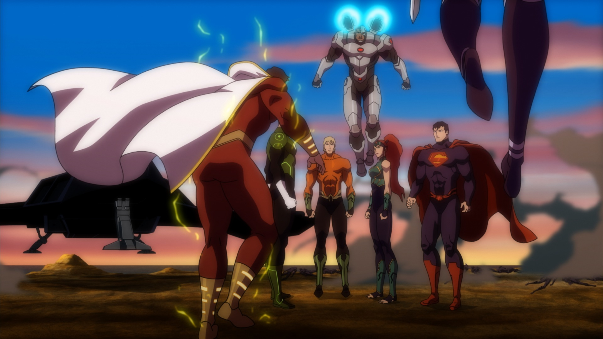 Justice League Throne Of Atlantis Review Lyles Movie Files
