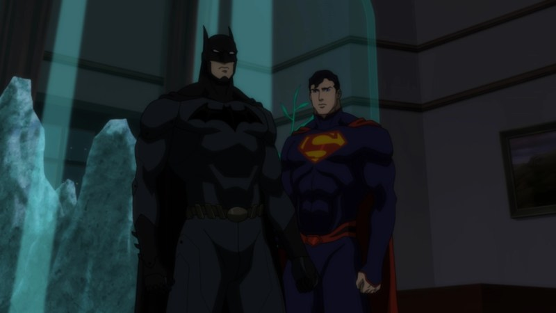 Justice League Throne of Atlantis - Batman and Superman