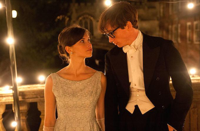The Theory of Everything - Felicity Jones and Eddie Redmayne dressed up