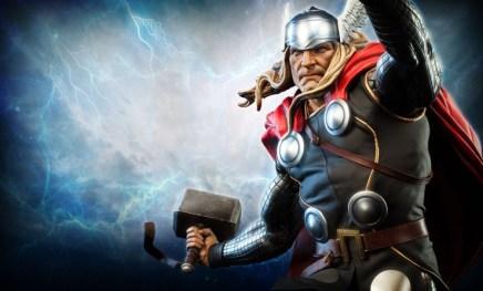 Thor Marvel Premium Format Figure - closeup wide
