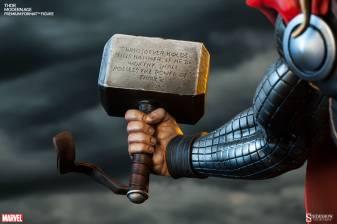Thor Marvel Premium Format Figure - Mjloner inscription