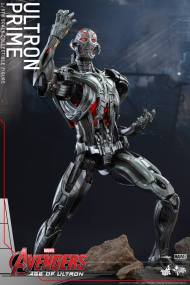 Hot Toys Age of Ultron - Ultron Prime - action pose