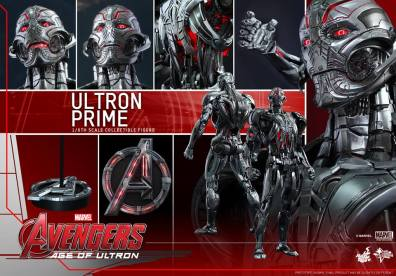 Hot Toys Age of Ultron - Ultron Prime - collage shot
