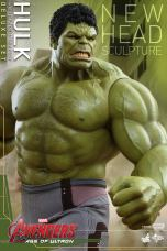 Hot Toys Hulk - Age of Ultron - close up of new head