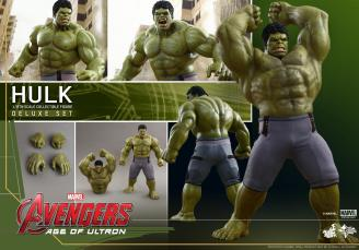 Hot Toys Hulk - Age of Ultron - collage pic